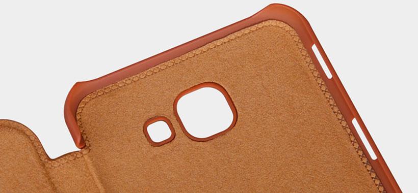 کیف چرمی نیلکین Galaxy A8 2016 با حفاظت از دوربین