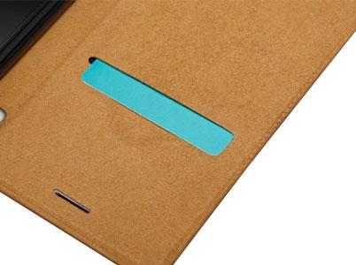 اسلات قرار دادن کارت کیف محافظ نیلکین گوشی Xperia L1