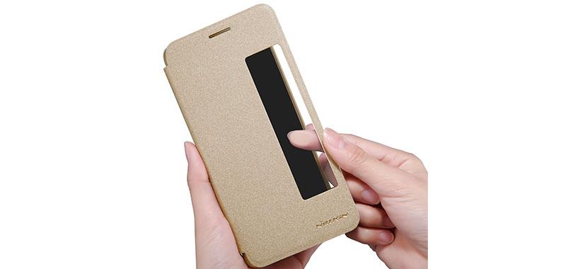 دسترسی به نمایشگر کوشی از روی درب کیف محافظ