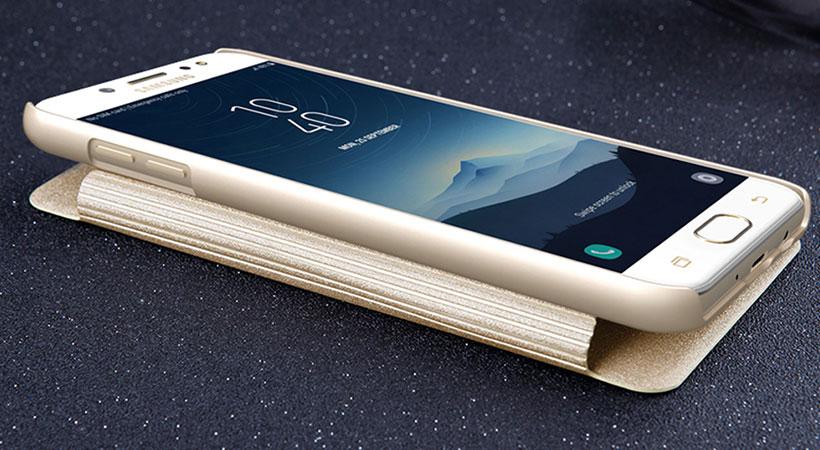 کیف نیلکین سامسونگ گلکسی Nillkin Sparkle Case Samsung Galaxy C7 2017