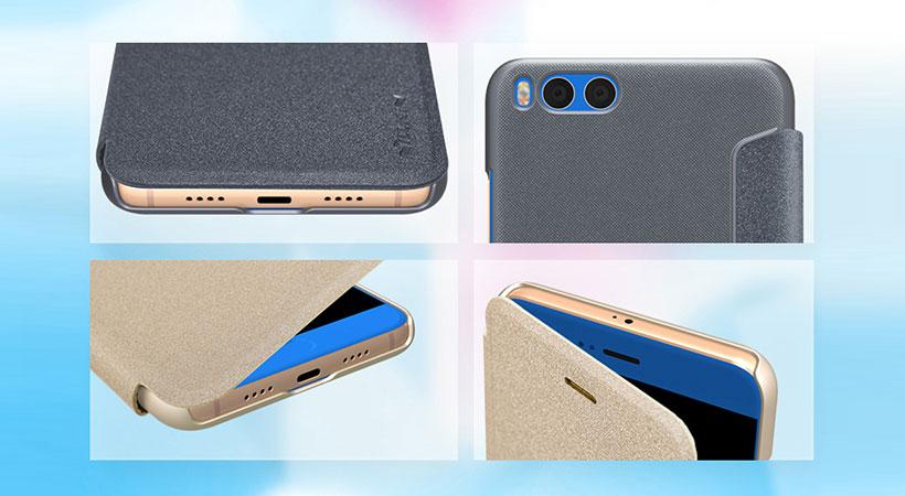 کیف نیلکین شیائومی Nillkin Sparkle Case Xiaomi Mi Note 3