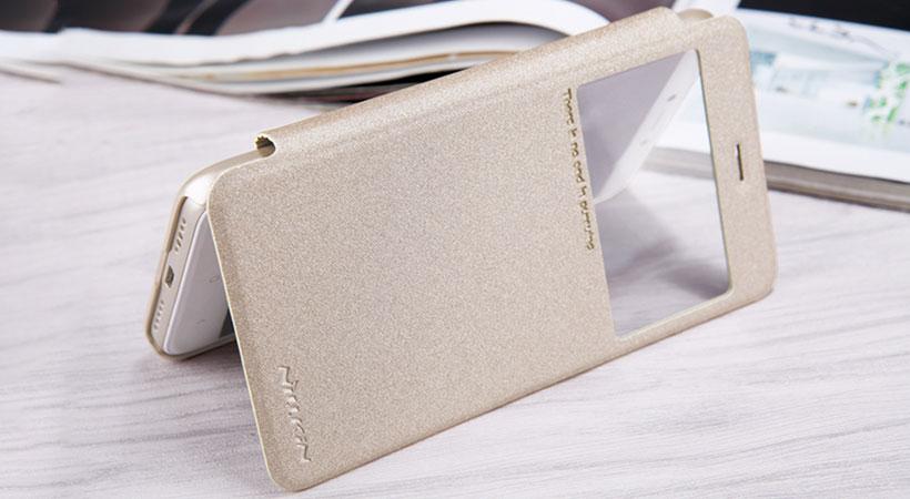 کیف نیلکین شیائومی Nillkin Sparkle Leather Case Xiaomi RedMi 4X