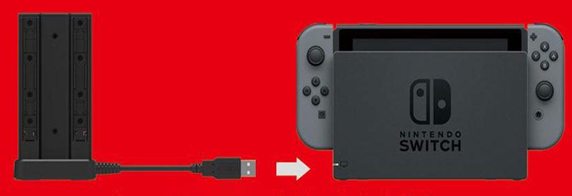 استند و پایه شارژر جوی کان نینتندو سوئیچ Hori Nintendo Switch Joy-Con Charge Stand