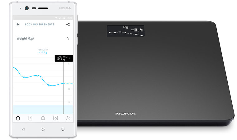 ترازوی هوشمند نوکیا Nokia Body Smart Scale