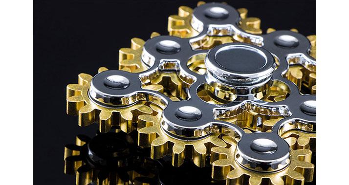 اسپین چرخ دنده ای2 Spinner Gear