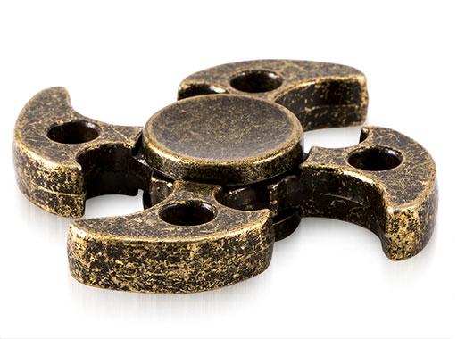 اسپینر فلزی چهار پره ای طرح تبر