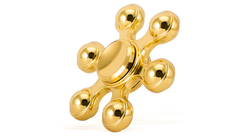 اسپینر فلزی شش پره ای توپی Spinner