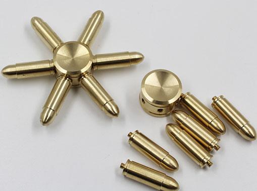 اسپینر فلزی شش پره ای طرح فشنگ برتا با پره های متحرک