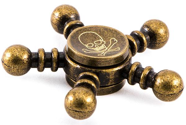 اسپینر فلزی طرح خطر Fidget Spinner Metal Danger
