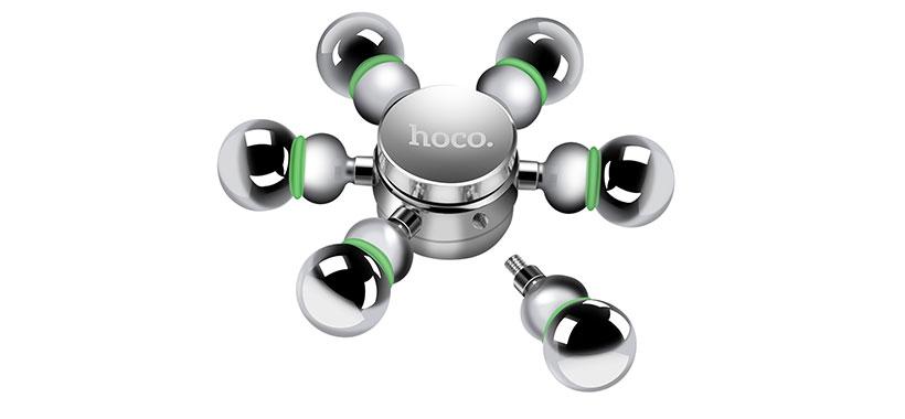 اسپینر فلزی شش پره ای هوکو با پره های متحرک