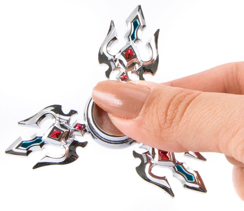 اسپینر فلزی سه پره ای طرح لوگوی مازراتی