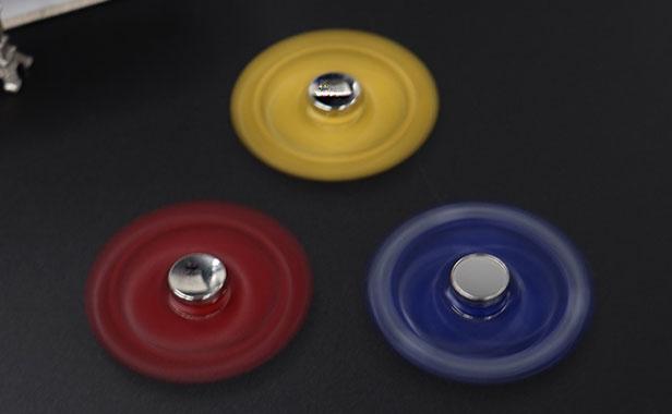 اسپینر فلزی سه پره ای طرح میکی موس با بلبرینگ های روان  fidget spinner