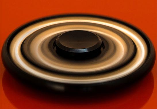 اسپینر فلزی چرخی ساچمهای spinner