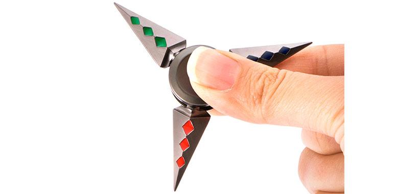 اسپینر فلزی سه پره ای طرح shuriken