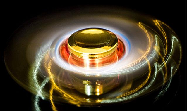 اسپینر فلزی سه پره ای طرح شوریکن Spinner Shuriken