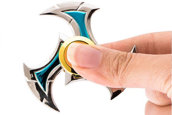 اسپینر فلزی سه پره ای طرح شوریکن spinner