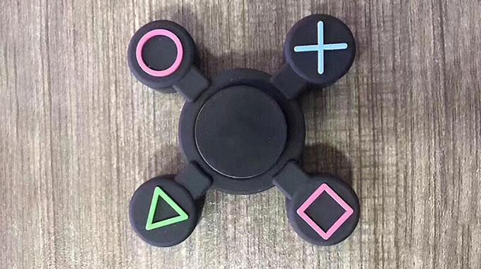 اسپینر پلاستیکی طرح دسته پلی استیشن Fidget Spinner PS Controller