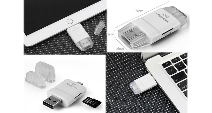 دستگاه کارت خوان i-FlashDrive USB to Lightning