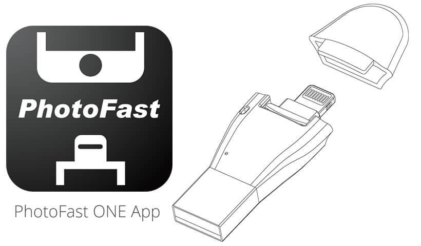 اپلیکیشن کارتخوان PhotoFast 4K iOS Card Reader
