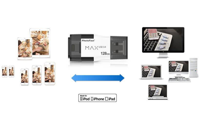 فلش مموری فوتوفست Max i-FlashDrive