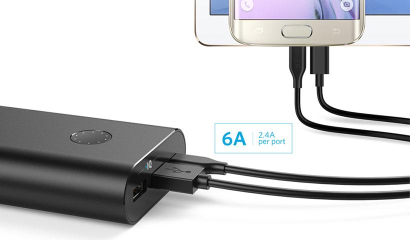 پاور بانک Anker PowerCore+ 20100mAh USB-C A1371