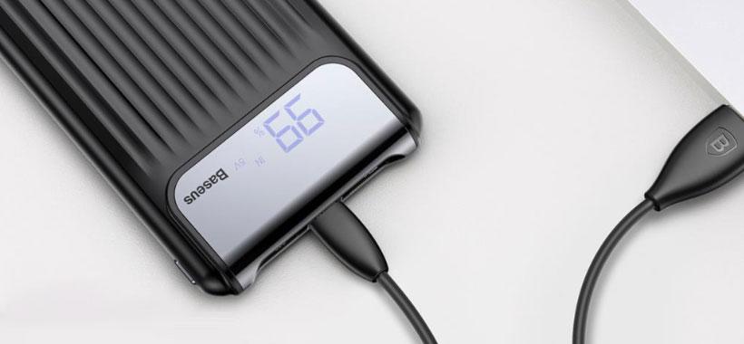 قابلیت شارژ سریع دستگاه های هوشمند با پاور بانک بیسوس