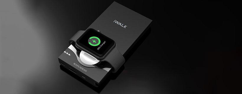 قابلیت شارژ بی سیم ساعت هوشمند اپل با پاور بانک واچ من