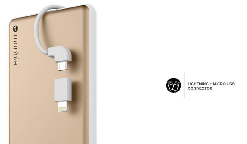 پاور بانک موفی مدل Powerstation Plus با ظرفیت 6000 میلی آمپر ساعت