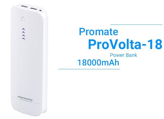 پاوربانک پرومیت Promate ProVolta-18 18000mAh Power Bank