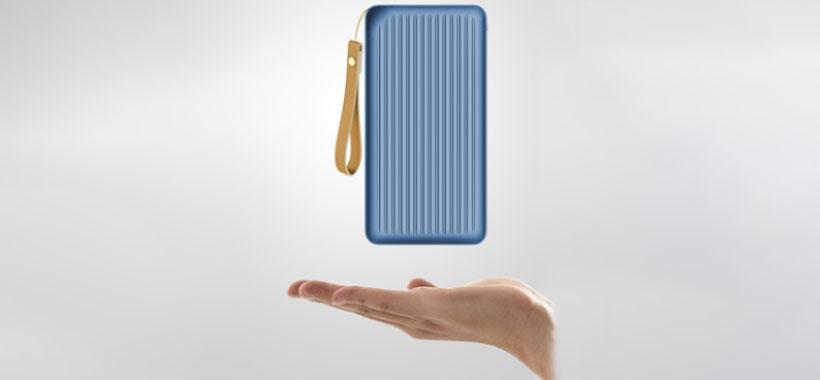 ابعاد کوچک و قابل حمل پاور بانک راک