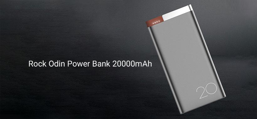 پاور بانک راک Odin Power Bank 20000mAh