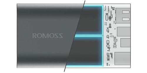 شارژر همراه لیتیوم پلیمری روموس ace a10