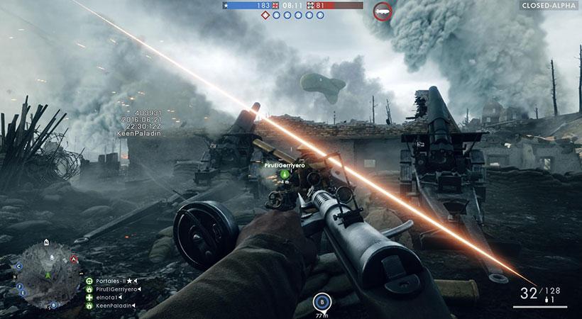 بازی پلی استیشن Battlefield 1 PS4 Game