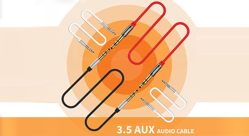 کابل انتقال صدای ریمکس Remax RL-L200 3.5mm AUX Cable