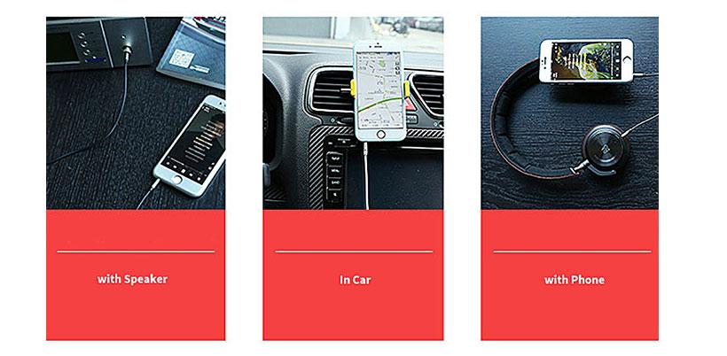 کابل انتقال صدای ریمکس Remax RL-L200 3.5mm AUX Cable