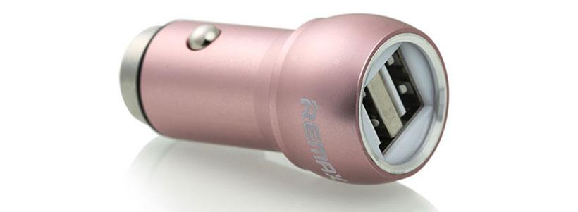 شارژر فندکی ریمکس با قبلیت شارژ همزمان دو دستگاه