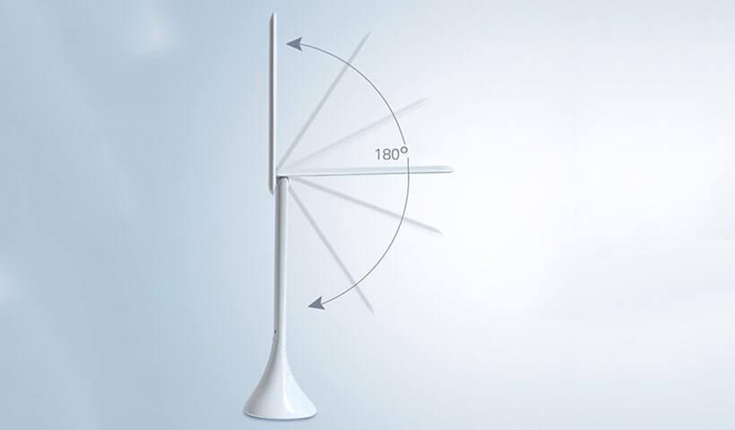 تنظیم زاویه چراغ مطالعه ریمکس RL-E180