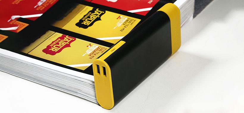 ابعاد کوچک و قابل حمل پاور بانک ریمکس