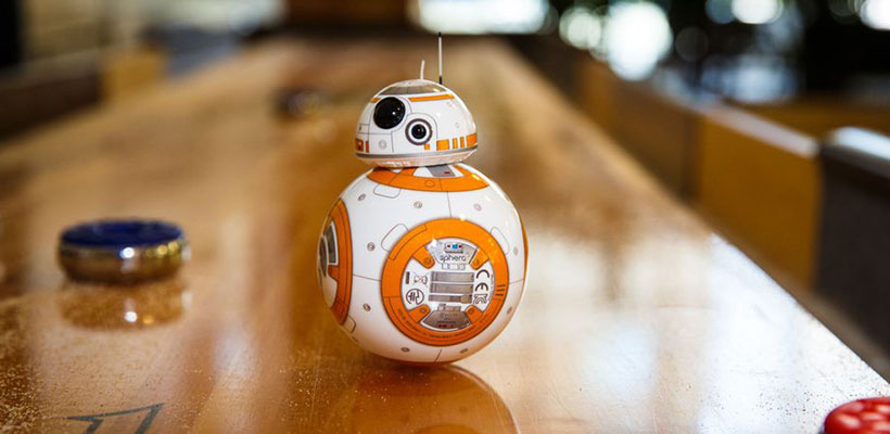 ربات کنترلی جنگ ستارگان با دستبند Sphero BB-8 App-Enabled Droid With Force Band