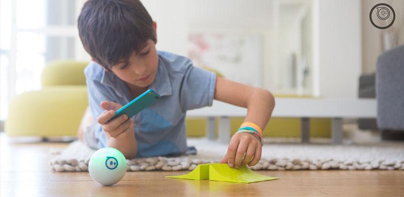 ربات توپ هوشمند مدل Sphero 2.0 Smart Ball