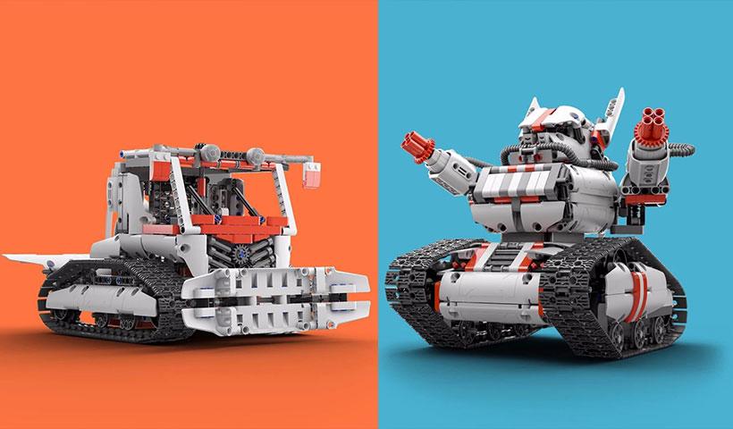 ربات تانک ماژولار شیائومی نسخه 2017