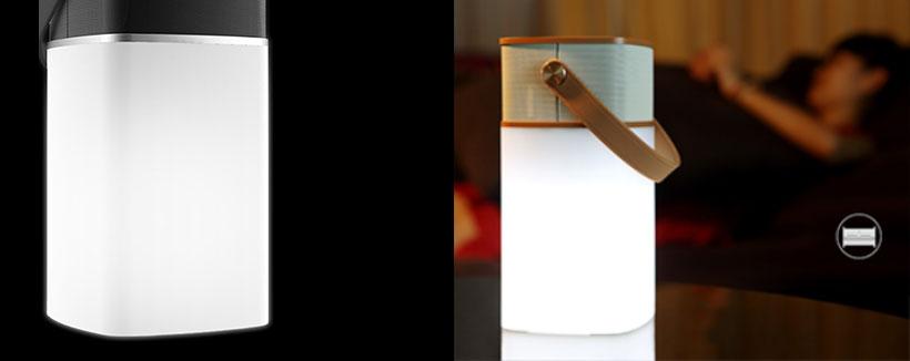 نور قابل تنظیم اسپیکر راک