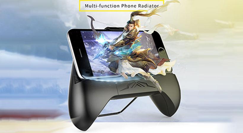 کولر فن گوشی موبایل راک Rock Multi Function Phone Radiator