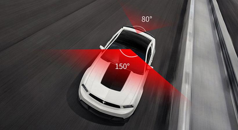 آینه دوربین دار خودرو راک Rockspace Dash Cam With Rear View Mirror