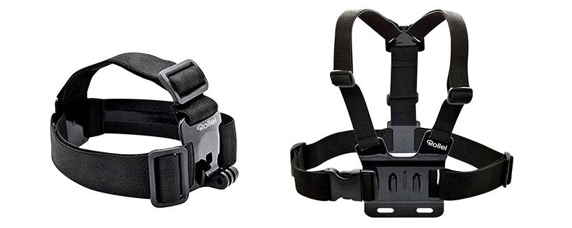 سینه بند و سربند مناسب برای نصب دوربین