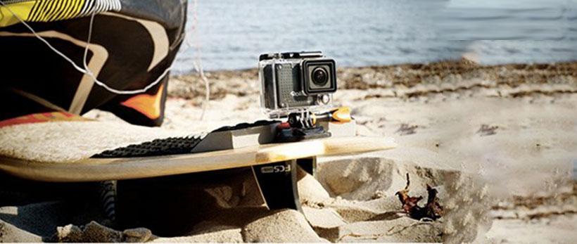دوربین فیلمبرداری ورزشی رولیه با تنظیمات مختلف