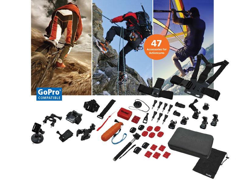 ست دوربین ورزشی رولیه Rollei Actioncam Mount Set Sport XL