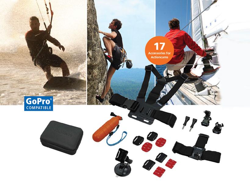 ست دوربین ورزشی رولی Rollei Actioncam Mount Set Sport