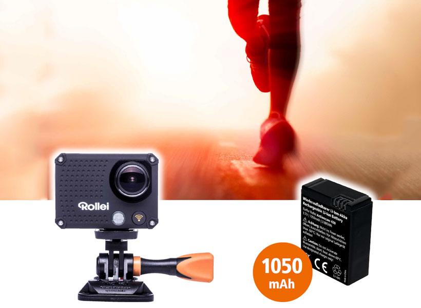 باتری قابل شارژ رولی برای دوربین ورزشی Actioncam 420