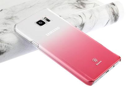 قاب محافظ بیسوس سامسونگ Baseus Gradient Case Samsung Galaxy Note 5